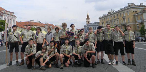 Na Starym Mieście w Wilnie - 16.07.2011r.